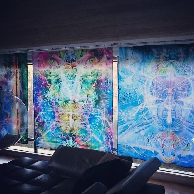 Visionary Tapestry/Curtain