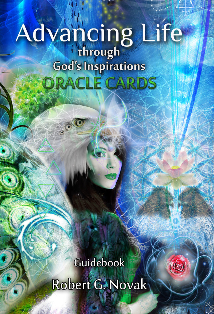 Advancing Life Oracle Cards Book Cover