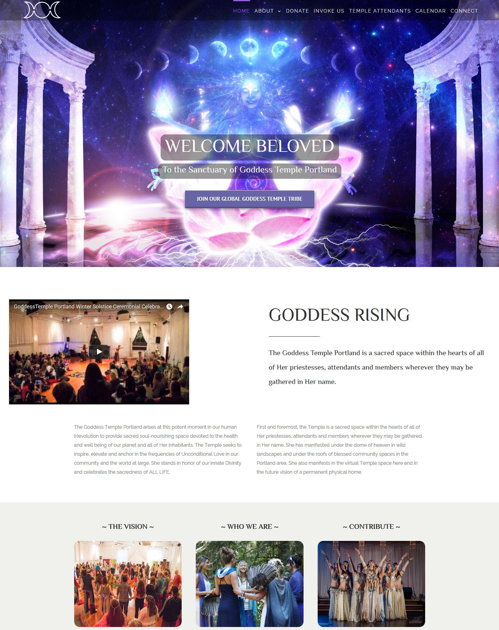 GoddessTemple-portfoloio