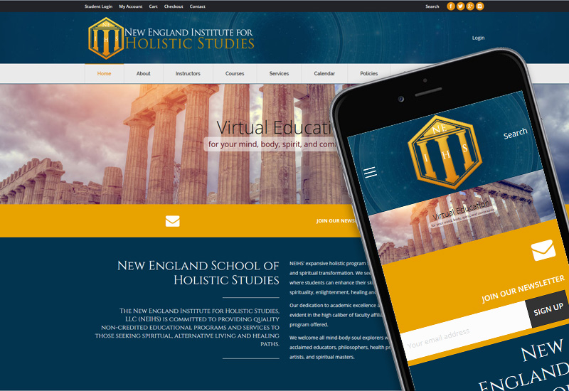 Web Design - Sacred Vision Designs