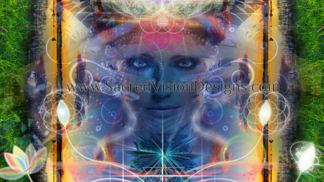 Spiritual Visionary Art Design