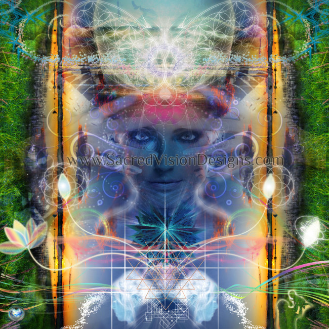 Spiritual Visionary Art Design